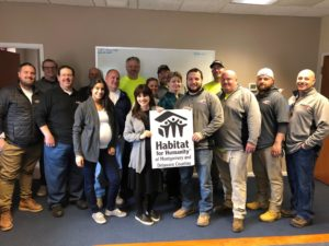 PAINTech Partners with Habitat for Humanity During Our  Community Service Initiative!